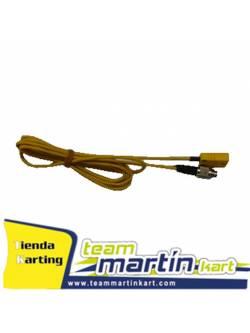 Cable prolongación compensado termopar/binder metalico 4P.