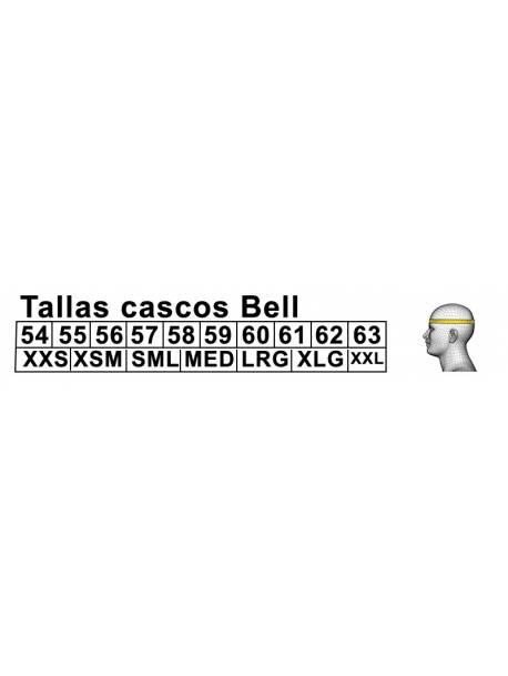 Tallaje Cascos Bell