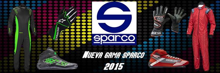 Sparco 2015 nueva colección