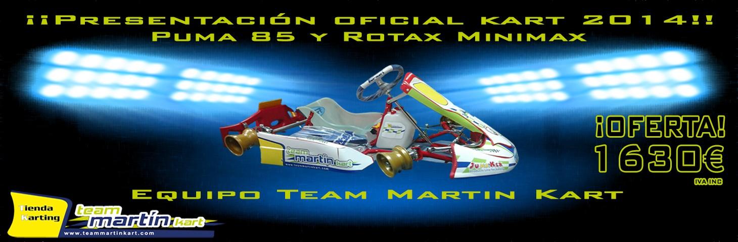 Equipo Team Martin Kart