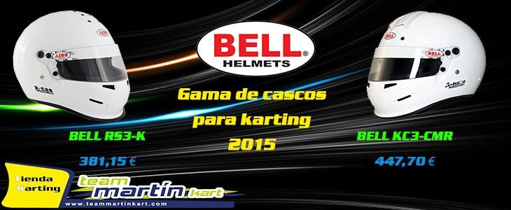 Cascos BELL 2015