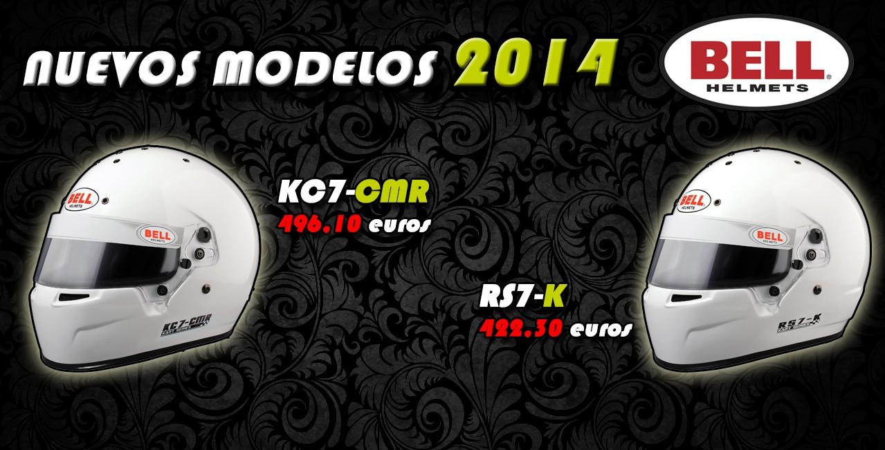 Nuevos cascos BELL 2014
