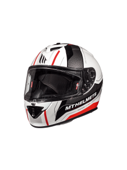 Casco MT Rapide Kid Duel D1 Gloss Pearl Red Kid