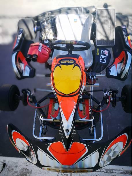 Kart completo CRG Master