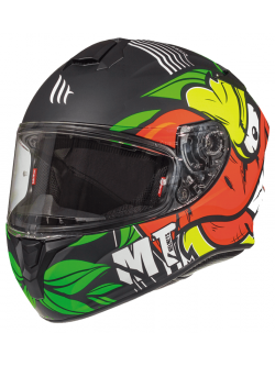 Casco MT TARGO TRUCK A2 Matt Fluor Yellow
