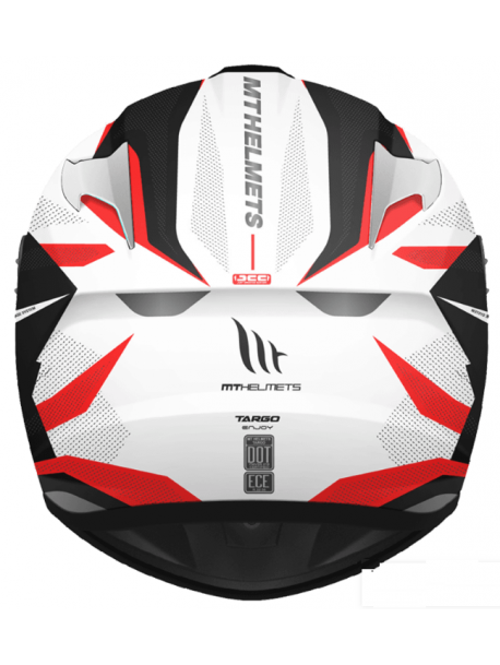 Casco MT Targo Enjoy D5 Gloss Pearl Red