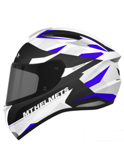 Casco MT Targo ENJOY D7 Gloss Pearl Blue