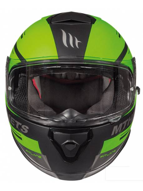 Casco MT Thunder 3 SV Pitlane C6 Matt Fluor Green