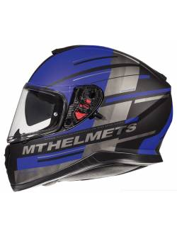 Casco MT Thunder 3 SV Pitlane C7 Matt Blue