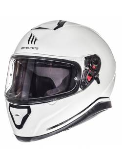 Casco MT Thunder 3 SV Solid Pearl White