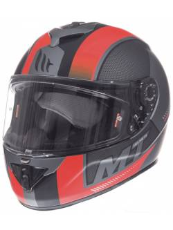 Casco MT Rapide Overtake B1 Matt Red