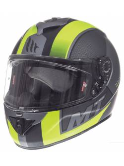 Casco MT Rapide Overtake B3 Matt Fluor Yellow