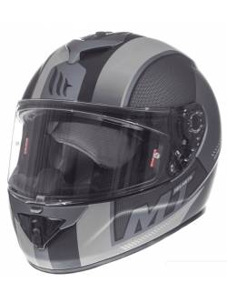 Casco MT Rapide Overtake B6 Matt White