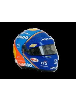 Mini casco Bell Fernando Alonso WEC 2018