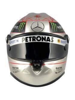 Casco replica Michael Schumacher silver 2012 SPA
